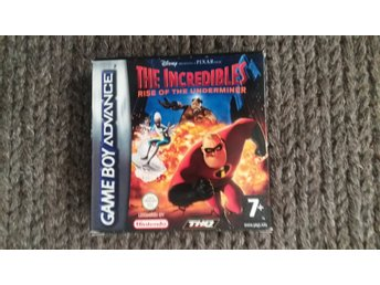 The Incredibles - Rise Of The Underminer - Nintendo GBA - SCN