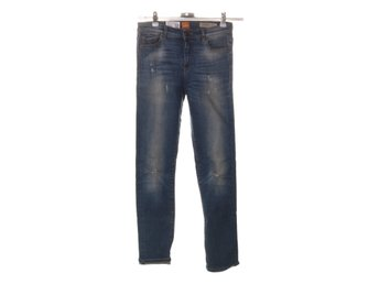 Boss Orange, Jeans, Strl: 25, Orange J21 High Rise Slim, Blå