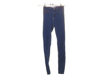 Perfect Jeans Gina Tricot, Jeans, Strl: xs, molly, Blå, Bomull/Elastan