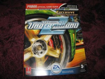 NEED FOR SPEED UNDERGROUND 2 OFFICIAL GAME GUIDE (PRIMA'S) NY OANVÄND