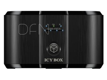 Raidsonic ICY BOX IB-124CL-U3 Docking- and Clone Station