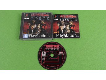 Fighting Force KOMPLETT Playstation ps1