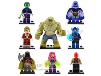 Superheros Killer Croc Suicide squad Minifigures 8 st snabb frakt - Hudiksvall - Superheros Killer Croc Suicide squad Minifigures 8 st snabb frakt - Hudiksvall