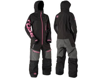 Tobe 2017 Privus Monosuit overall Jet Black Pink Insulated XS (REA 20%)
