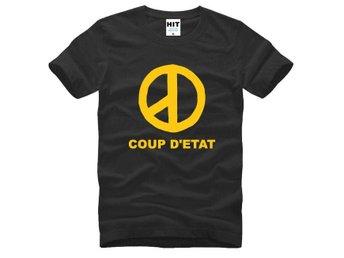 Premium Quality Big Bang COUP D'ETAT Svart Fan T-Shirt (Storlek Medium) Kpop - Uppsala - Premium Quality Big Bang COUP D'ETAT Svart Fan T-Shirt (Storlek Medium) Kpop - Uppsala