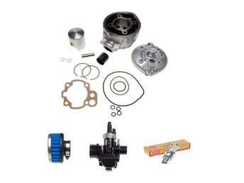 Cylinder 90 cc + kolv kit + forgasare 21mm + BR9ES  + filter PEUGEOT XPS SM