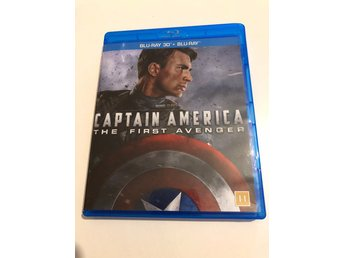 Captain America - The first avenger - Sv. Text - Blu ray 3D