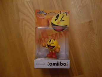 Nintendo Amiibo. Super Smash Bros Collection - Pac-Man. Ny
