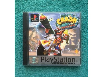 Crash Bandicoot Warped PS1 Playstation PAL Europeisk utgåva BRA SKICK!