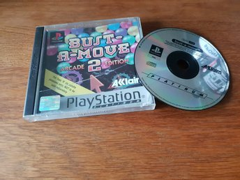 BUST-A-MOVE 2 ARCADE EDITION PS1 BEG