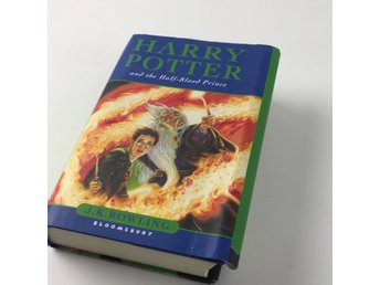 Bok, Harry Potter and the half-blood Prince (barn), J. K. Rowling, Inbunden