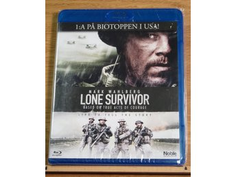 Lone survivor Mark Wahlberg Bluray Inplastad!