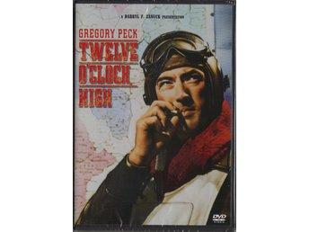 TWELVE O'CLOCK HIGH - DVD (INPLASTAD)