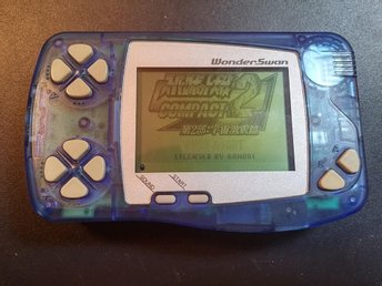WonderSwan Skeleton Blue - Fullt fungerande!
