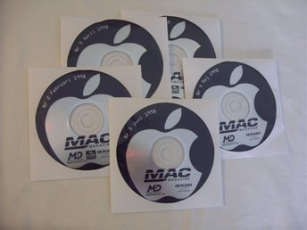 Mac Magazine 5 st Svenska Demo CD ROM skivor