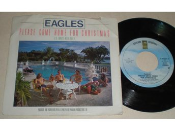 Eagles 45/PS Please come home for Christmas US 1978 - Farsta - Eagles 45/PS Please come home for Christmas US 1978 - Farsta