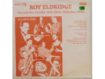 Roy Eldridge-The Krupa years 1941-1942. Sideman 1940. / LP