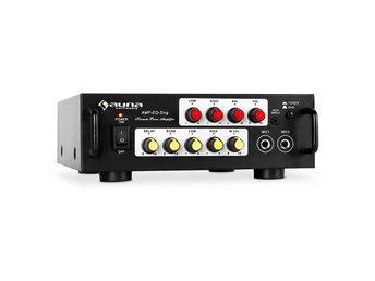 Karaoke-HiFi-förstärkare Auna 400W PA-slutsteg equalizer - Berlin - Karaoke-HiFi-förstärkare Auna 400W PA-slutsteg equalizer - Berlin