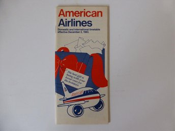 American Airlines Tidtabell 1983