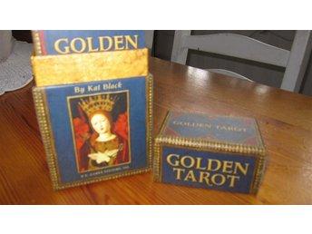 """Tarot lek """"Golden Tarot"""" en deluxe lek med det lilla extra allt! - Ludvika - Tarot lek """"Golden Tarot"""" en deluxe lek med det lilla extra allt! - Ludvika"""