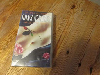 GUNS N ROSES THE MAKING OF ESTRANGED PART 4 OF THE TRILOGI VHS 60 MIN