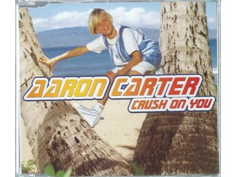 AARON CARTER - CRUSH ON YOU   (CD MAXI/SINGLE )