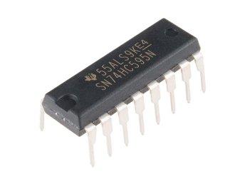 40 St IC totalt - 10x 74HC595 / 74HC138 / 74HC164 / 74HC00 shift register gate - Gävle - 40 St IC totalt - 10x 74HC595 / 74HC138 / 74HC164 / 74HC00 shift register gate - Gävle