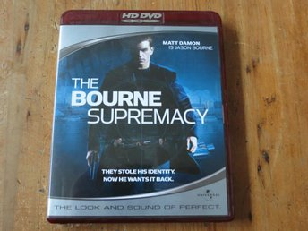 THE BOURNE SUPREMACY (HD DVD) Matt Damon