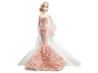 Barbie Gold Label - Mermaid Gown Barbie - Silkstone, docka modell X8254 Mattell - Nacka - Barbie Gold Label - Mermaid Gown Barbie - Silkstone, docka modell X8254 Mattell - Nacka