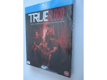 TRUE BLOOD: SÄSONG 4./ 2012. DRAMA. 5 BLU-RAY BOX. NY & INPLASTAD. FRAKTFRITT!