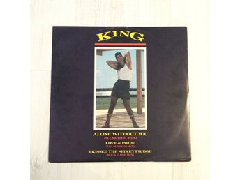 "KING - ALONE WITHOUT YOU. (12"")"
