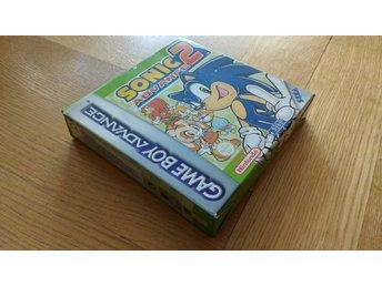 GBA/Game Boy Advance: Sonic Advance 2 - Stockholm - GBA/Game Boy Advance: Sonic Advance 2 - Stockholm