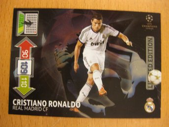 LIMITED EDITION - CRISTIANO RONALDO - REAL MADRID - C LEAGUE 2012-13