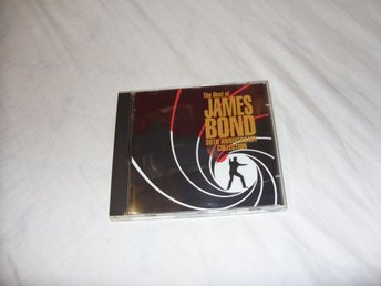 The Best of James Bond 30th Anniversary Collection 2st CD utgåva Musik CD