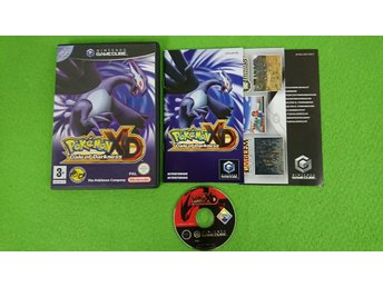 Pokemon XD Gale of Darkness SVENSK UTGÅVA KOMPLETT Gamecube Nintendo Game Cube