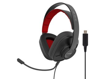 KOSS Headset GMR545 ISO USB Over-Ear Mic Remote Svart