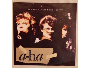 a-ha SINGELOMSLAG The Sun Always Shines On T.V. 1985