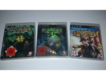 - 3-Pack Bioshock PS3 -