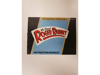 Who Framed Roger Rabbit - Manual NES NINTENDO - USA