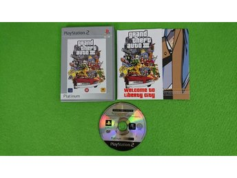 GTA 3 KOMPLETT PS2 Playstation 2 grand theft auto