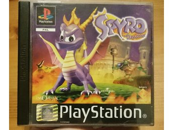 PlayStation one spel Spyro the Dragon
