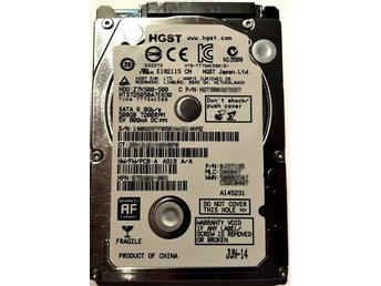 "HGST SATA 2,5"" 500GB 7200rpm"