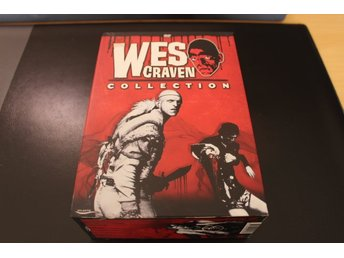 DVD-box: Wes Craven Collection - 4 filmer