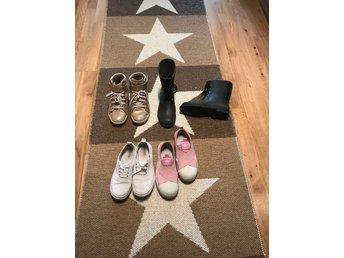 Paket med skor till tjej i strl 37, bra skick, .. (403585531