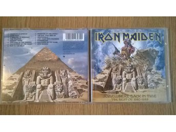 Iron Maiden - Somewhere Back In Time The Best Of: 1980-1989