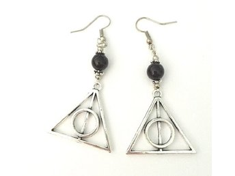 Örhängen - Deathly Hallows - Dödsrelikerna - Harry Potter - Onyx