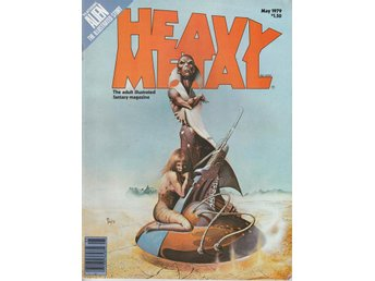 HEAVY METAL ADULT FANTASY MAGAZINE MAY 1979