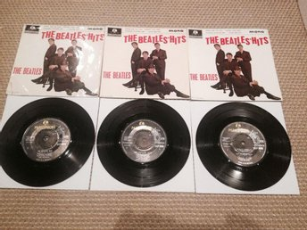 The Beatles' Hits EP 1st, 2th & 3th press