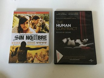 2x DVD Filmer - Sin Nombre The Human Contract (action - thriller) - Malmö - 2x DVD Filmer - Sin Nombre The Human Contract (action - thriller) - Malmö