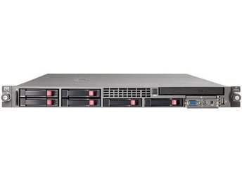 HP ProLiant DL 360 G5, 2 st Intel Xeon 5110 CPU, 4 x 72 GB SAS Hårddisk